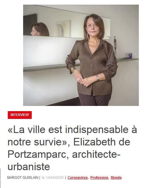 Elizabeth de Portzamparc, Présidente de l'agence 2Portzamparc